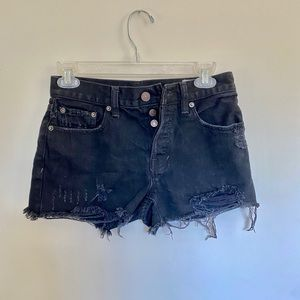 """We The Free"" Distressed Jean Shorts"